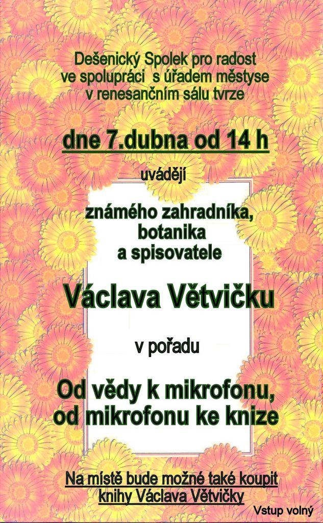 Beseda Václav Větvička