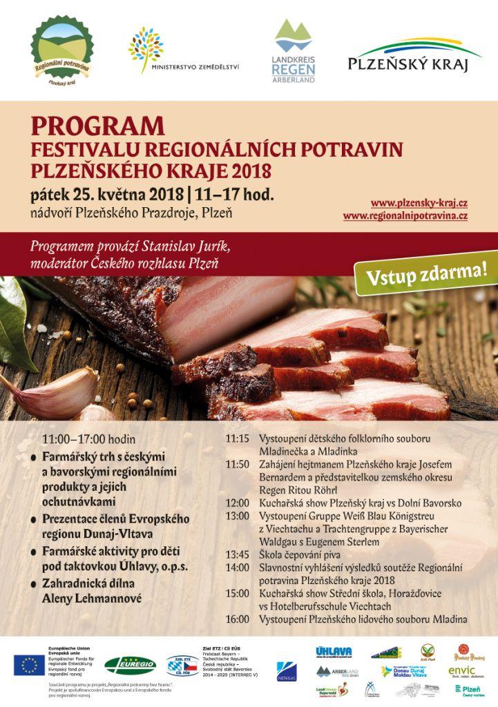 Pozvánka na Festival regionálních potravin